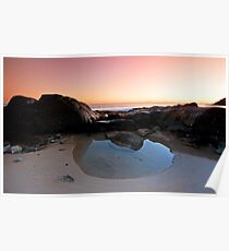 The Tidal Pool - Noosa Qld. Poster
