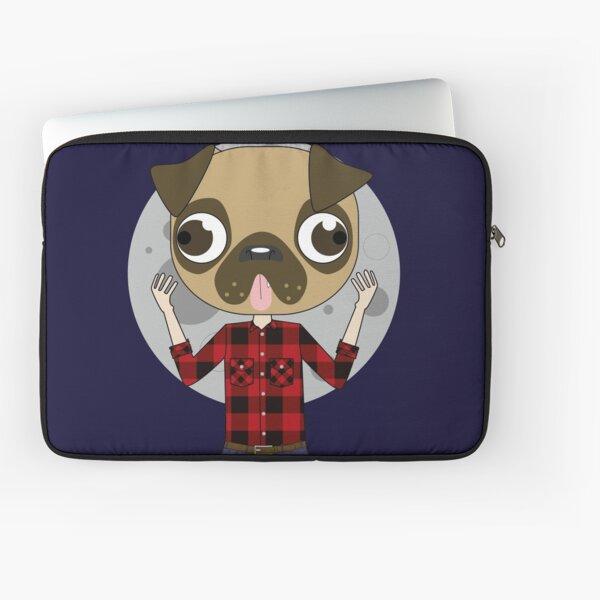 Beware the Were-Pug! Laptop Sleeve