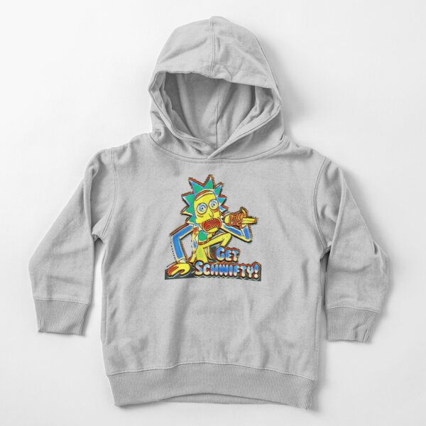 Rick and Morty Get Schwifty TM Toddler Pullover Hoodie