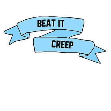 Beat it, creep by 23connieyu