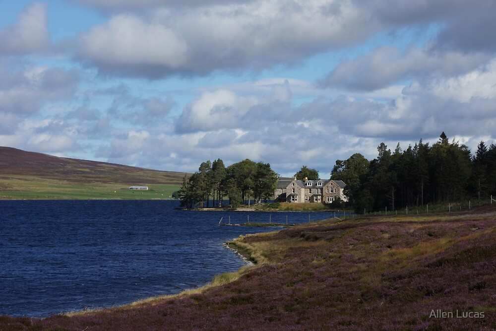 Lochindorb Lodge by Allen Lucas