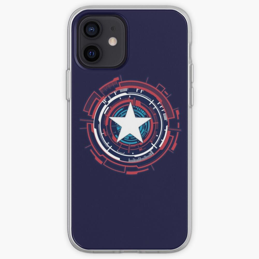 America Hero Futuristic Logo iPhone Case & Cover