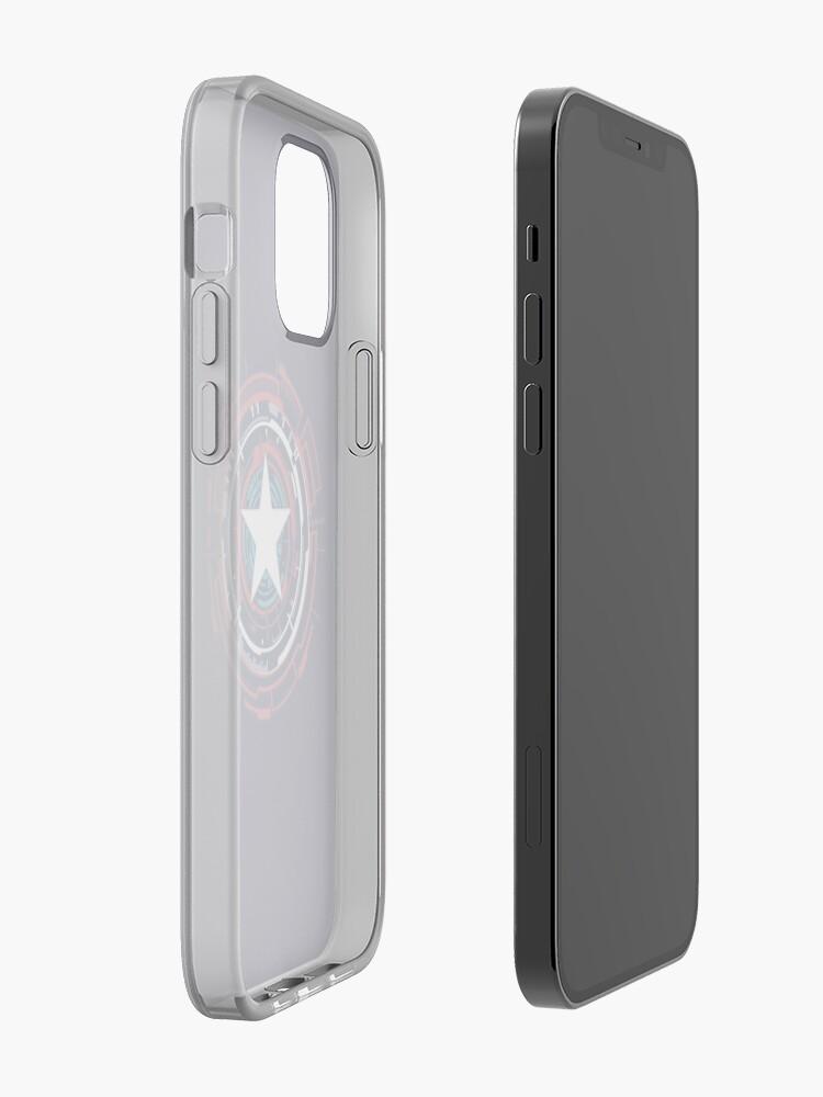 Alternate view of America Hero Futuristic Logo iPhone Case & Cover