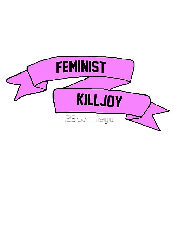 Feminist Killjoy Banner by 23connieyu