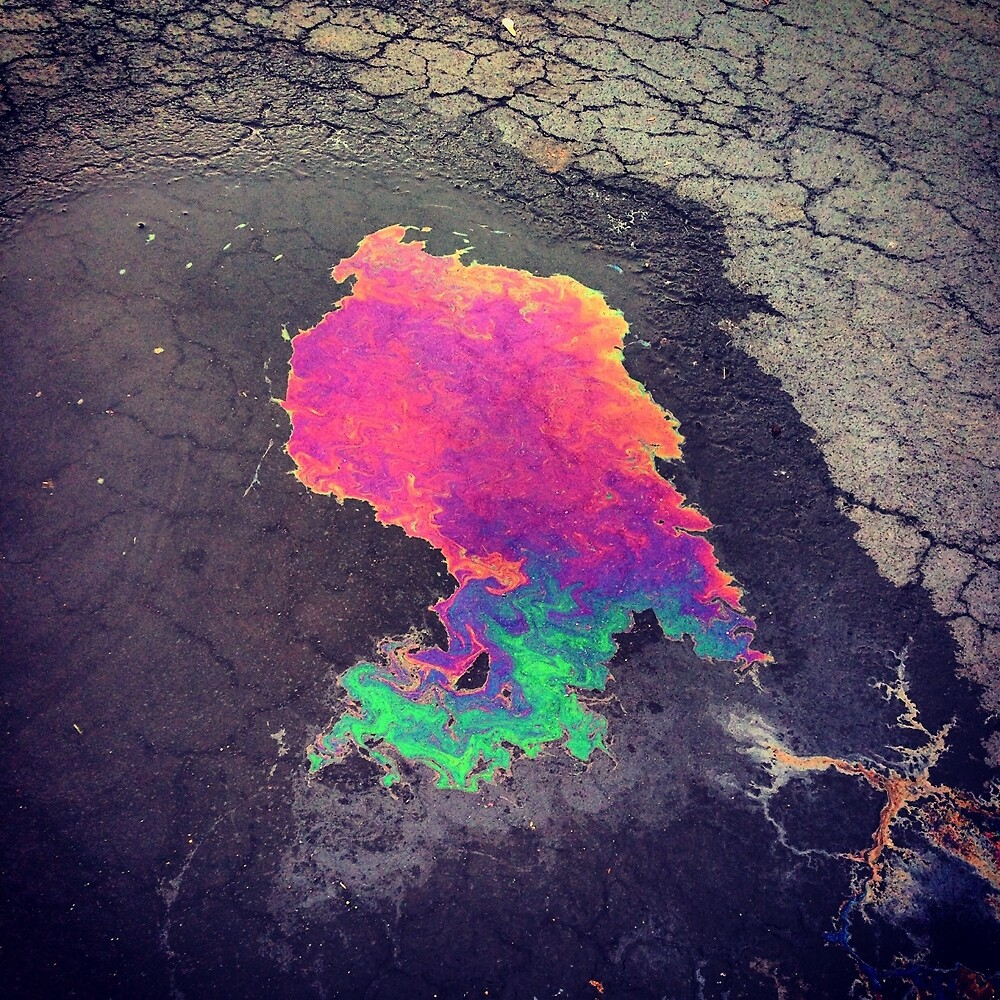 Oil in the street by hdercc