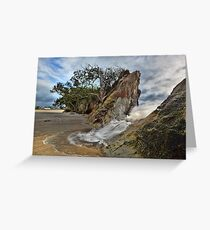 Whiritoa Breach Greeting Card