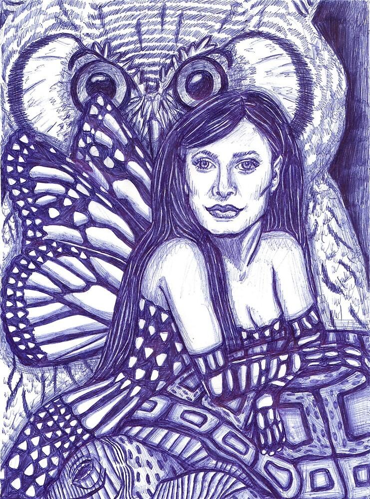 Fairy Queen of the animals by lequarius