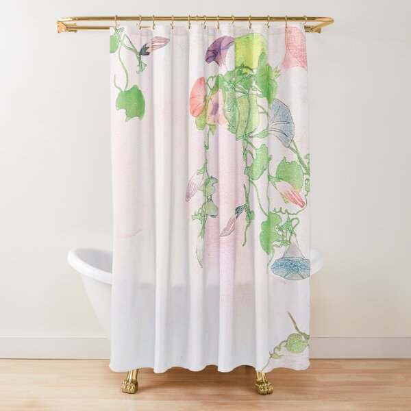 Revival of Spring Shower Curtain