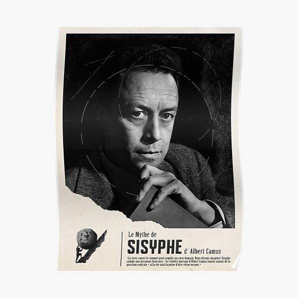 Le mythe de Sisyphe par Albert Camus Poster