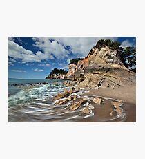 Otonga Point Rocks Photographic Print