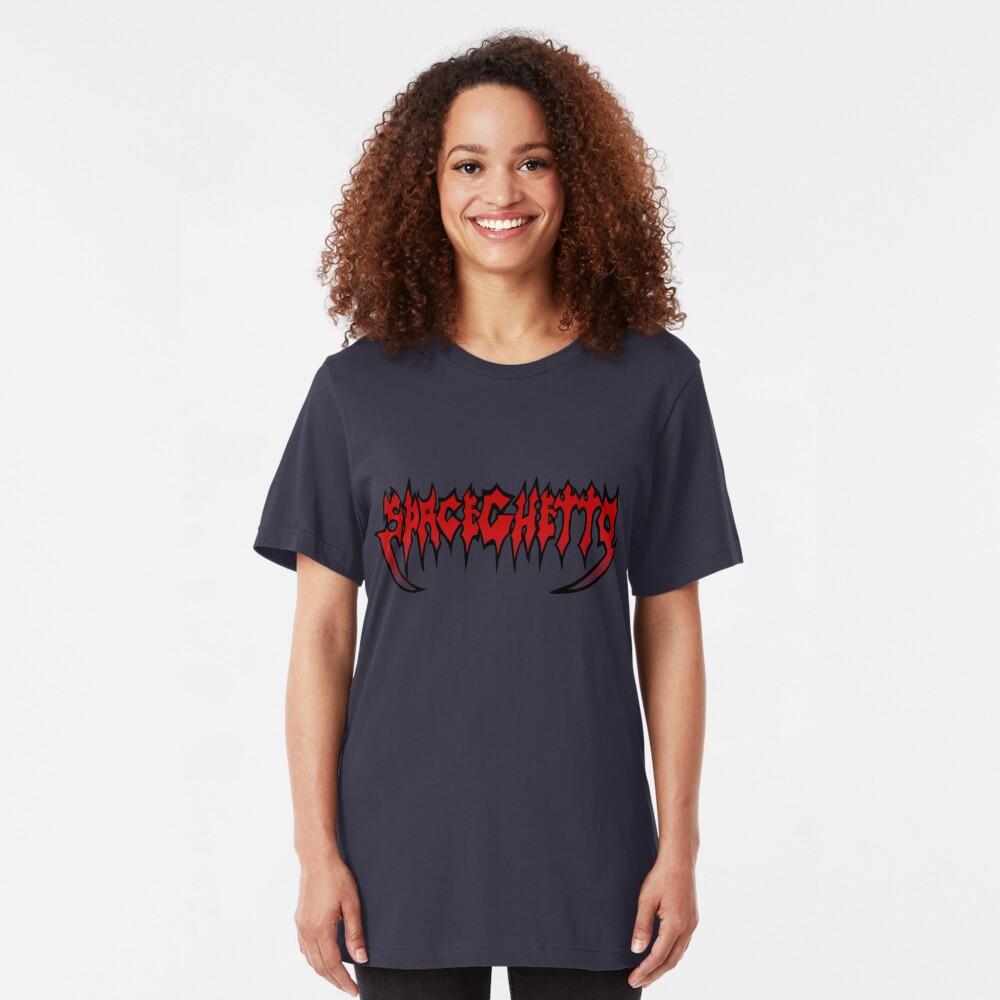 SpaceGhetto Metal Slim Fit T-Shirt