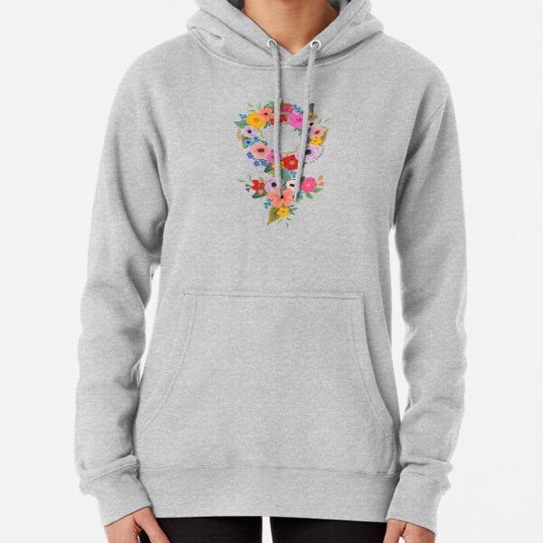 Floral Feminist - The Peach Fuzz Pullover Hoodie
