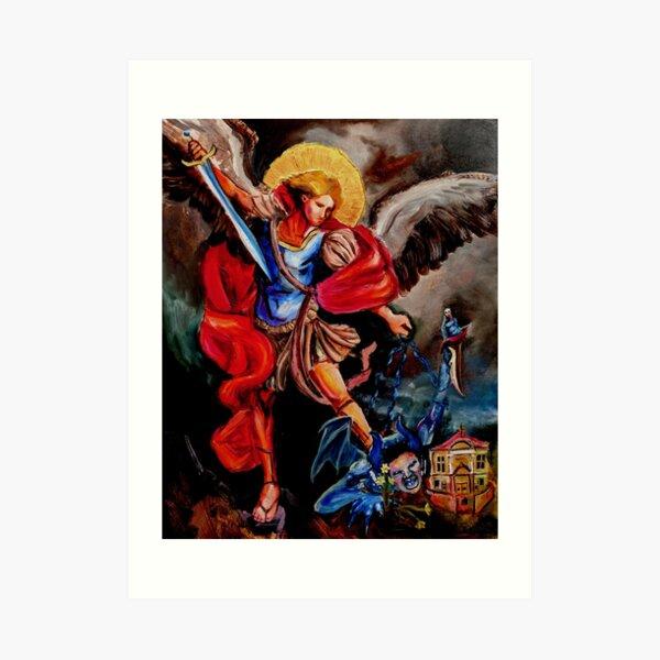 St. Michael Print Art Print