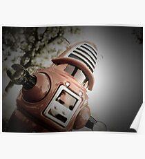 Retro Toy Robby Robot 02 Poster