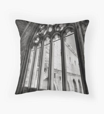 Papal Palace, Avignon Throw Pillow