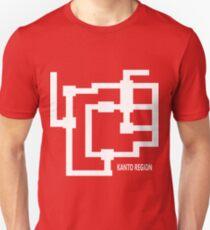 Kanto Region Map T-Shirt