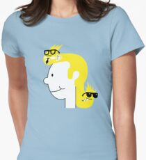 Business in the Front... Womens Fitted T-Shirt