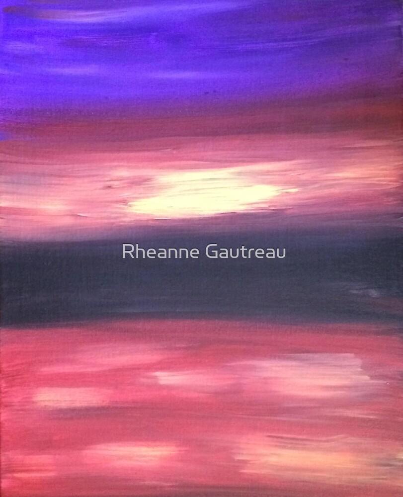 first sunset by Rheanne Gautreau