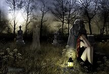 The Graveyard Ghost by AsylumWitch
