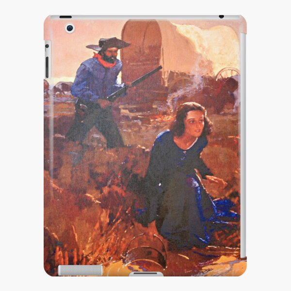 Woman at the Water Hole - Charles Hargens iPad Snap Case