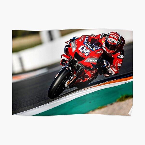 Andrea Dovizioso sur sa Ducati Poster