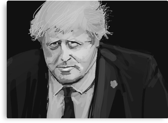 Boris Johnson by Nigel Silcock