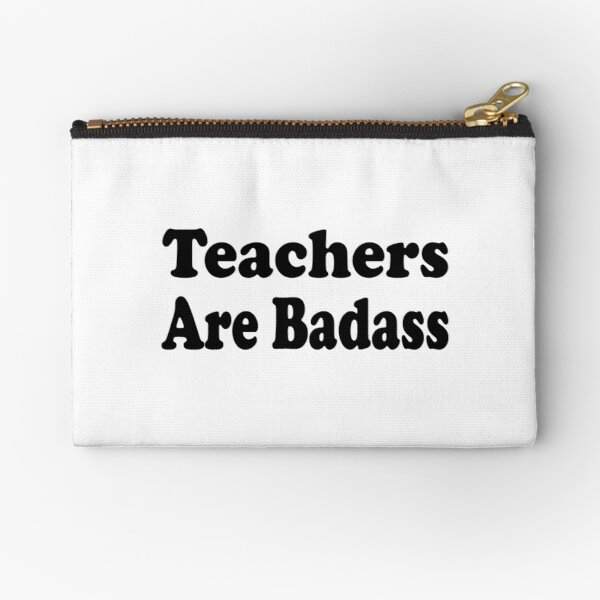 Teacher Zipper Pouch