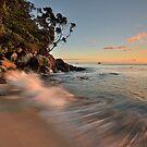 Whiritoa Dawn Rush by Ken Wright