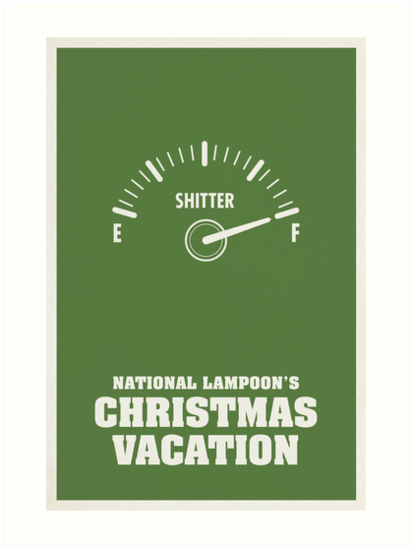"""National Lampoons Christmas Vacation"" Art Prints By Matt"