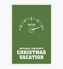 National Lampoons Christmas Vacation Photographic Print