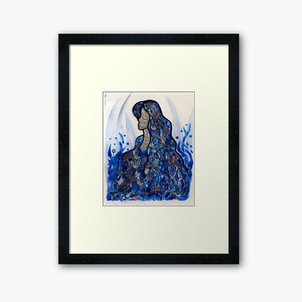 Born from Fire Framed Art Print