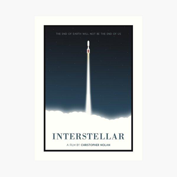 Interstellar Movie Art Prints Redbubble