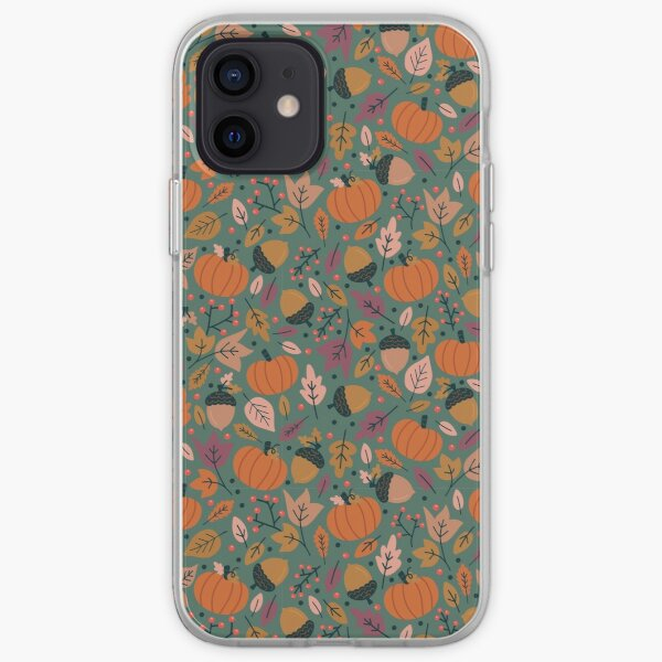 Fall Pumpkin Field iPhone Soft Case