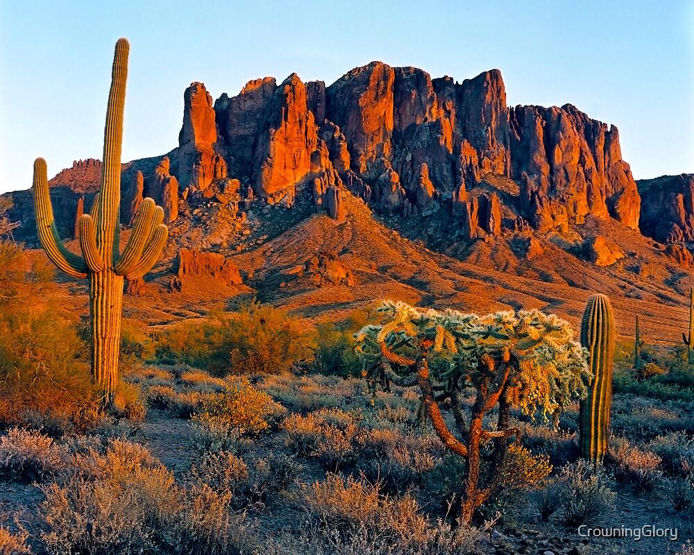 Desert Sunset by CrowningGlory
