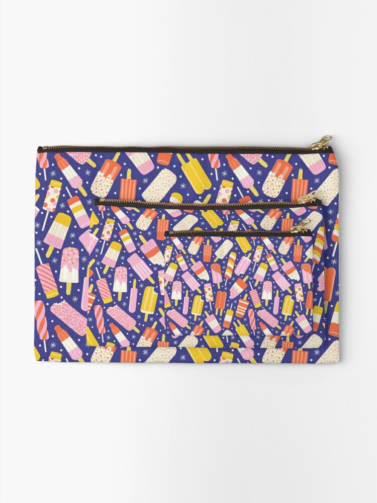 Alternate view of Popsicles Zipper Pouch