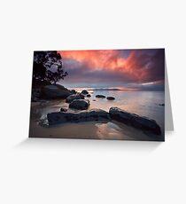 Cartwright Point Sunrise, Taroona, Tasmania Greeting Card