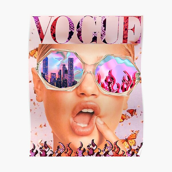 VOGUE reflections  Poster