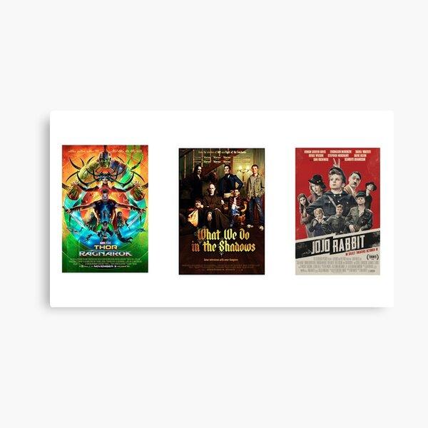 taika waititi movie posters  Canvas Print