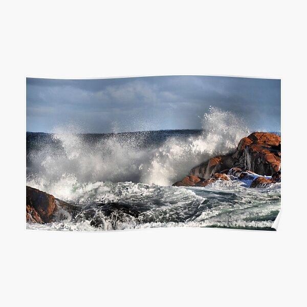Splash - Canal Rocks Western Australia Poster