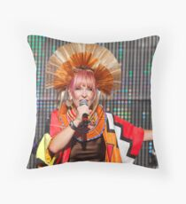 Rewind festival 2011 Toyah Throw Pillow
