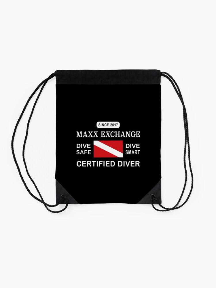 Alternate view of Maxx Exchange Certified Diver Wetsuit Snorkel. Drawstring Bag