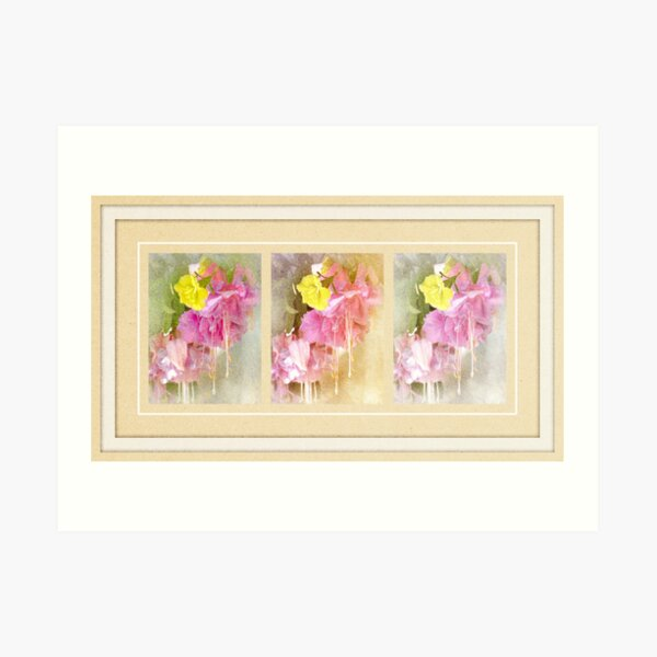 Fuchsia Fairies Art Print