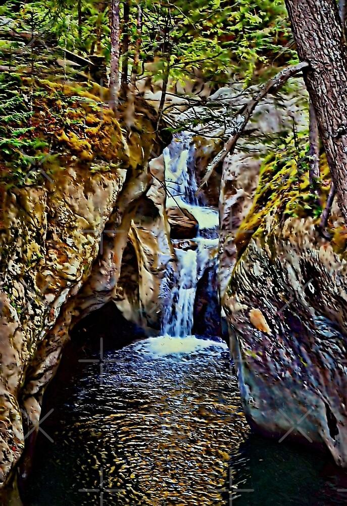 Texas Falls Vermont by Scott Mitchell