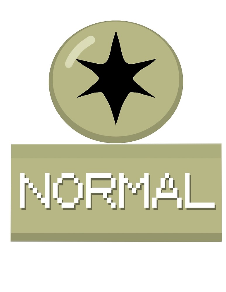 Pokemon Type - Normal by Mrspala