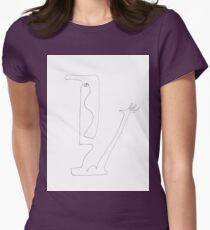 I know, I know, pick me! Womens Fitted T-Shirt