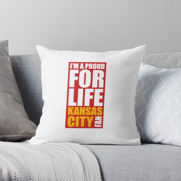 My City Kansas City win or lose yesterday today tomorrow Throw Pillow