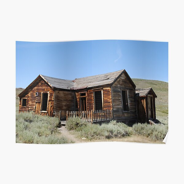 Bodie cabin Poster