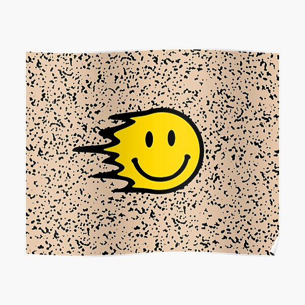 Smiley Face Poster//Funny Poster//Little Girl Smiling//Poster//Print//Inspirational