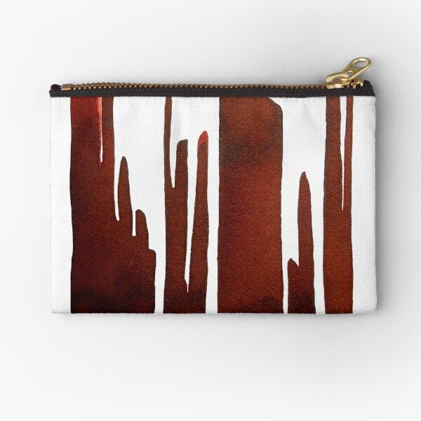 Abstract Zipper Pouch