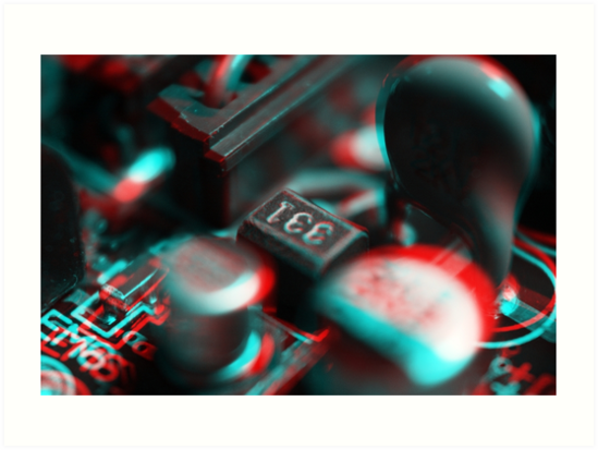 Anaglyph Circuitry 2 by Daniel Owens